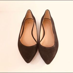 Joe's Jeans Shoes - Joe's Jeans black suede pointed flats size 6.5